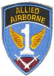 1st ALLIED AIRBORNE (REPRO)