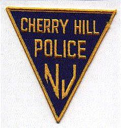 Cherry Hill Police Patch (blue/gold/felt) (NJ)