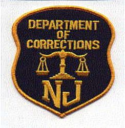 Dept. of Corrections Patch (large) (NJ)