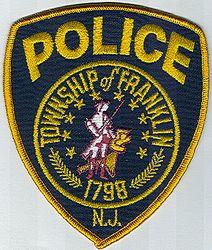 Franklin Twp. 1798 Police Patch (NJ)