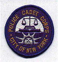 New York City Cadet Corps Police Patch (NY)
