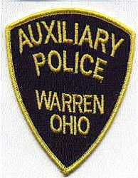 Warren Aux. Police Patch (OH)