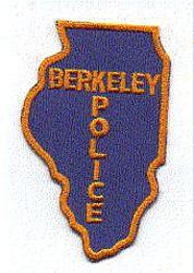 Berkeley Police Patch (IL)