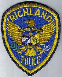 Richland Police Patch (WA)