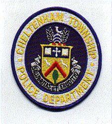 Cheltenham Twp. Police Patch (round) (PA)