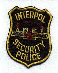 Misc: Interpol Security Police Patch