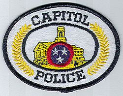 Capitol Police Patch (TN)