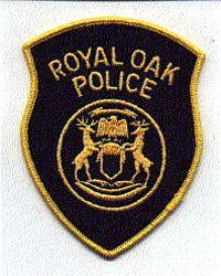 Royal Oak Police Patch (large) (MI)