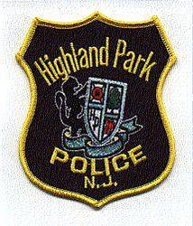 Highland Park Police Patch (NJ)