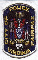 Fairfax City 1805 Police Patch (VA)