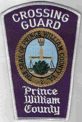 Prince William Co. Police Crossing Guard (county seal,white edge)(VA)