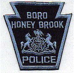 Boro Honey Brook Police Patch (PA)