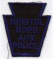 Bristol Boro Aux. Police Patch (blue/black, twill) (PA)