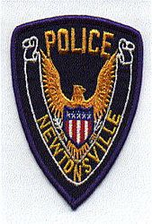 Newtonsville Police Patch (blue edge) (OH)