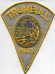 Trumbull Police Town Seal Patch (CT)