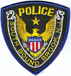 South Bound Brook Police Patch (blue edge) (NJ)