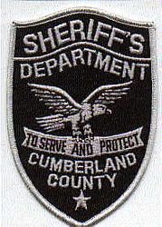 Sheriff: NJ, Cumberland Co. Sheriffs Dept. SWAT Patch (facing right)
