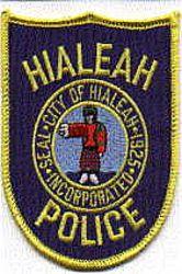 Hialeah Police Patch (FL)