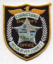 Sheriff: FL, Indian River Co. Sheriffs Dept. of Corr. Patch