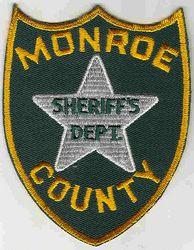 Sheriff: FL, Monroe Co. Sheriffs Dept. Patch (white star)