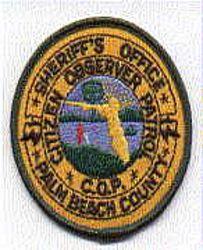 Sheriff: FL, Palm Beach Co. C.O.P. Sheriffs Dept. Patch