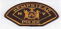 Hempstead Police Patch (brown/orange) (NY)