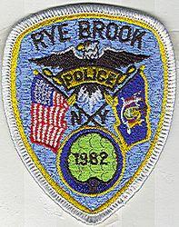 Rye Brook Police Patch (small) (NY)