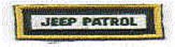 Sheriff: FL, Sheriff Jeep Patrol Patch (pocket tab)