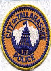 Tallahasse Police Patch (round) (FL)