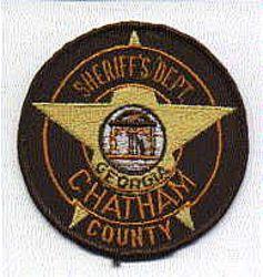 Sheriff: GA, Chatham Co. Sheriffs Dept. Patch