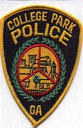 College Park Police Patch (GA)