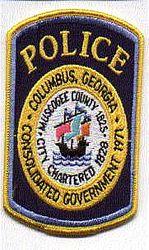Columbus Police Patch (GA)
