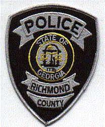Richmond Police Patch (GA)