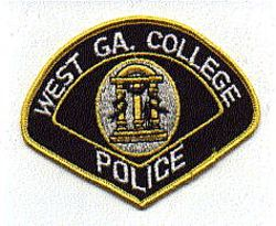 School: GA, West Georgia College Police Patch