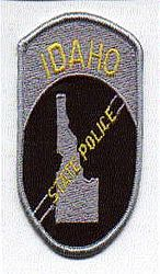 State: ID, State Police Patch