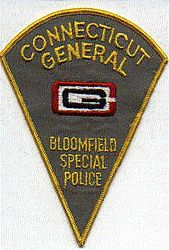 Bloomfield Special CT General Police Patch (CT)