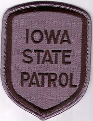 State: IA, State Patrol SWAT Patch