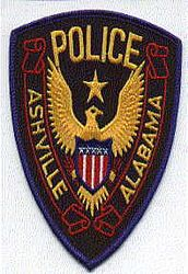 Ashville Police Patch (AL)