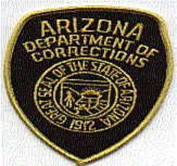 Dept. of Corrections Patch (large)(AZ)