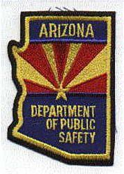 State: AZ, Dept. of Public Safety Patch (color) (AZ)
