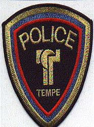 Tempe Police Patch (new) (AZ)