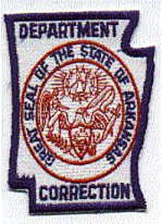 Dept. of Corrections Patch (AR)