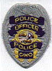 Police Officer Patch (badge shape) (CA)