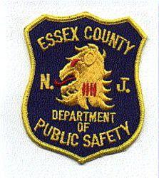 Essex Co. Dept. of Public Safety Patch (facing left) (NJ)