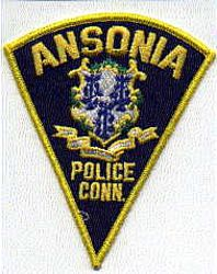 Ansonia Police Patch (triangle) (CT)