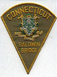 Baldwin Bridge Police Patch (CT)