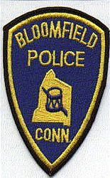 Bloomfield Police Patch (CT)