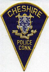 Cheshire Police Patch (blue/yellow)(CT)