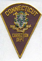 Correction Dept. Patch (brown/triangle)(CT)