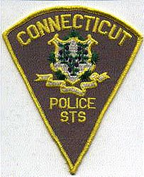 Connecticut STS Police Patch (CT)